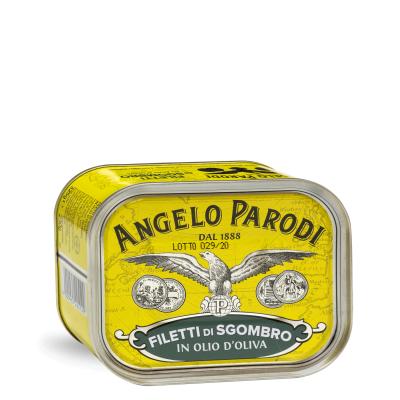 Filetti di Sgombro <br>in Olio d'Oliva 2x325g
