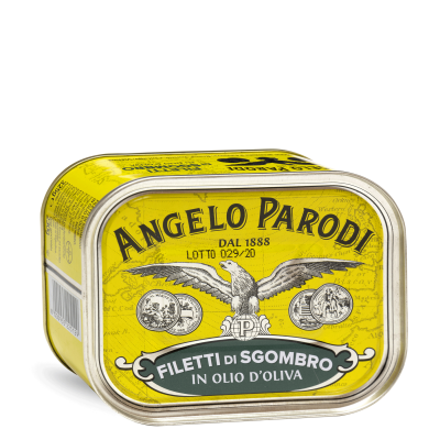Filetti di Sgombro <br>in Olio d'Oliva 730g